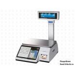 Весы с печатью самоклеящихся этикеток CAS CL-3000-06P