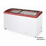 Морозильный ларь с гнутым стеклом Italfrost ЛВН 500 Г (СF 500 C) (красный)