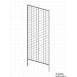 Стойка/стендлясетка из металлической сетки Гефест Модуль 1830х630