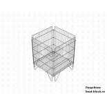 Стол для распродаж из металлической сетки Юнитрейд корзина 620х620х800