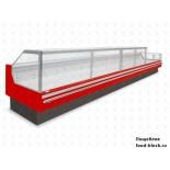 Холодильная витрина JBG-2 LDL-2,5-27 RAL 3000