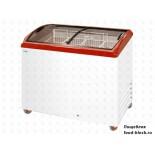 Морозильный ларь с гнутым стеклом Italfrost ЛВН 300 Г (СF 300 C) (красный)
