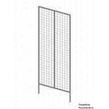 Стойка/стендлясетка из металлической сетки Гефест Модуль двойной 1830х645