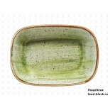 Столовая посуда из фарфора Bonna блюдо прямоугольное THERAPY AURA ATH GRM 12 DKY