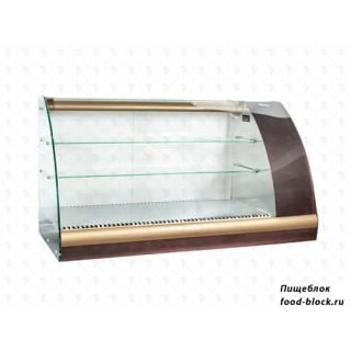 Горизонтальная барная витрина Полюс ВХС-1,2 Арго XL Люкс