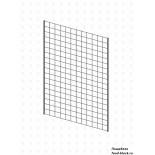 Стойка/стендлясетка из металлической сетки Гефест Сетка  900х600 с двойной окантовкой
