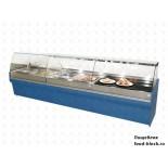 Кондитерская холодильная витрина Jordao VIT.EL VENT.TOTAL-V EL VT CGP VDA 1250 (отделка Amphora синий)