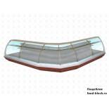 Кондитерская холодильная витрина Enteco Master НЕМИГА EXTRA K 250 ВВ RAL 3000