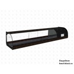 Горизонтальная барная витрина Полюс холодильная ВХСв-1,5 Carboma