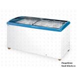 Морозильный ларь с гнутым стеклом Italfrost ЛВН 600 Г (СF 600 C) (синий)