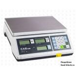 Весы торговые для определения массы и цены CAS ER-Jr-15CB