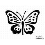 Кондитерский инвентарь Martellato Маска-трафарет для оформления тортов (бабочка)