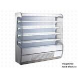 Горка холодильная Jordao MFP4 SLIM 130 LACT.C/GP K.EV.SK (цвет белый)