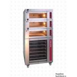 Подовая хлебопекарная печь Matina серии CP, мод. CP168/16 (CP168/16-3яр,нав,пан.уп,пар,расст.D868)