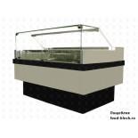 Холодильная витрина для мороженого Enteco Master НЕМИГА CUBE ICE 120 ВН RAL 9006