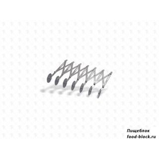 Кондитерский инвентарь Pujadas Нож для теста, роликовый, 7 дисков