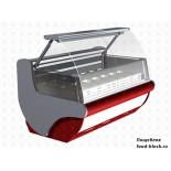 Холодильная витрина для мороженого EQTA ВДН 1,3 Imola RAL 3004 с лайт-боксом