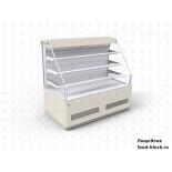 Кондитерская холодильная витрина JBG-2 RDE-0,9-22 RAL 9003