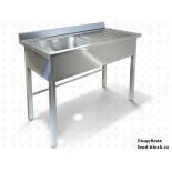 Цельнотянутая моечная ванна Техно-ТТ ВМ-32/668П