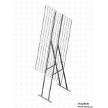 Стойка/стендлясетка из металлической сетки Гефест Стенд складной с сеткой 1200х600 мм