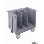 Пластиковая тележка и шпилька  Cambro Тележка для подносов и тарелок TDC30 401