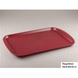 Пластиковый поднос  Restola 422106621 (450x350 мм, бордовый)