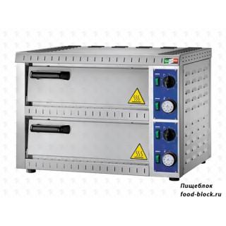Электрическая печь для пиццы  GAM B 1+1
