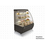 Кондитерская холодильная витрина JBG-2 RDE-0,9-02 RAL 7016