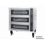 Подовая хлебопекарная печь Sinmag SK-P933G (3яр.,3прот.керам.под,пар,стенд,навес)