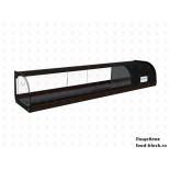 Горизонтальная барная витрина Полюс холодильная ВХСв-1,8 Carboma