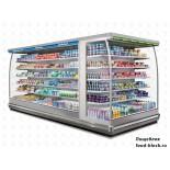 Горка холодильная Costan LION NARROW 22 W 250 (LEONS25)