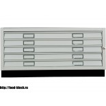 Картотечный шкаф BISLEY FCB 43L (PC 473) формат А1