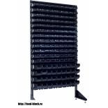 Стеллаж с пластиковыми ящиками 1801-12/4 CH