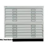 Картотечный шкаф BISLEY FCB 42L (PC 471/472) формат А1