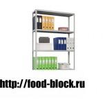 Медицинский стеллаж СТМ MS 185/100х40/4