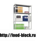 Медицинский стеллаж СТМ MS 185/100х30/4